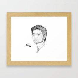Osric Chau Framed Art Print