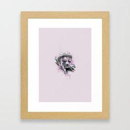 Buddha (Pink Version) Framed Art Print