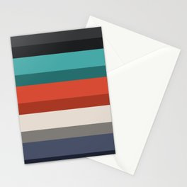 Accordion Fold Series Style F Stationery Cards