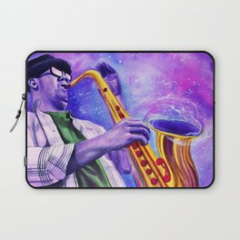 The sound of a blackhole, resonates in B flat. Laptop Sleeve