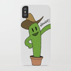 Cactus Rodeo iPhone X Slim Case