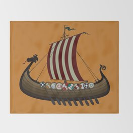 Vikings Throw Blanket