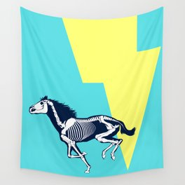 Electro Horse Wall Tapestry