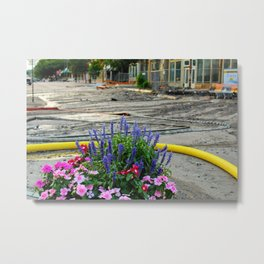 Beauty in the Middle of Disaster Metal Print