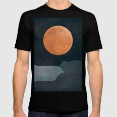 FULL MOON 2 MEDIUM Mens Fitted Tee Black