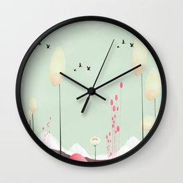 lambent Wall Clock