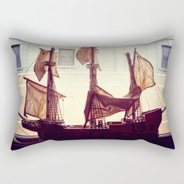 Clipper ship Rectangular Pillow