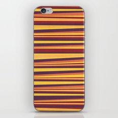 Happy Horizontal Lines iPhone Skin