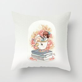 Bella & Chip Throw Pillow