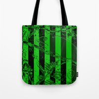 waldo Tote Bags featuring WALDO by Ken Forst
