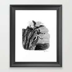 The Vulture Advocate Framed Art Print