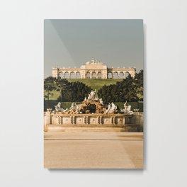 Schönbrunn palace Vienna, Austria Metal Print