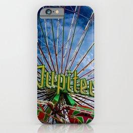 Ferris wheel at the funfair iPhone Case