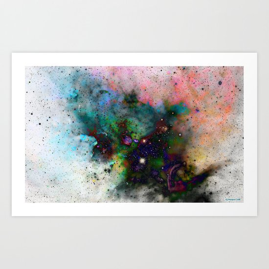 Everything is nothing 5 (therefore it was beautiful) Art Print