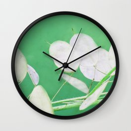 Moon Shaped Honesty Wall Clock