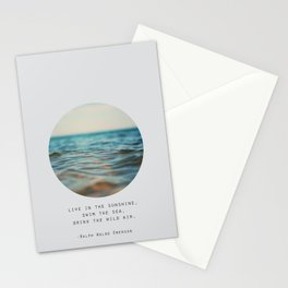 Swim The Sea #2 Stationery Cards