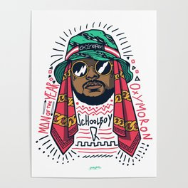 SchoolboyQ Poster
