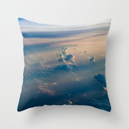 Cloudscape I Throw Pillow