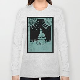 Relaxation (Black) Long Sleeve T-shirt