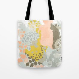 Upton - Abstract painting perfect for dorm room phone case abstract art and feminine abstract art Tote Bag