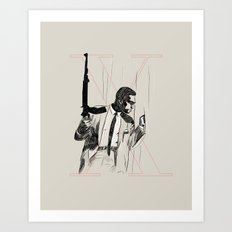 By any means necessary Art Print