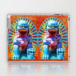 Spirit of The Lion Dog Laptop & iPad Skin