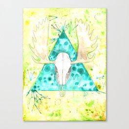 Skulltaste Canvas Print