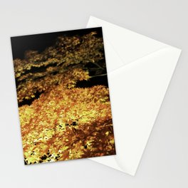 A Road of Autumn Leaves Stationery Cards
