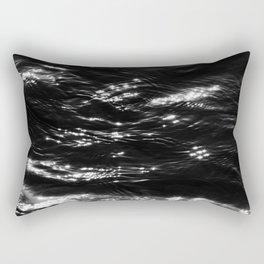 Ocean   Landscape Photography   Shiny Water   Minimalist   Moody Rectangular Pillow