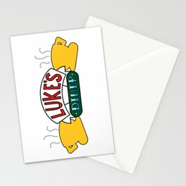 Luke's Diner - Central Perk Stationery Cards