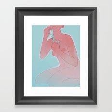talkshowhost Framed Art Print