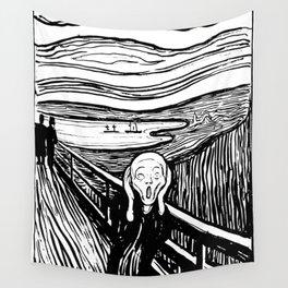 Edvard Munch The Scream 1895 Lithograph Reproduction Artwork for Prints Posters Tshirts Men Women Ki Wall Tapestry