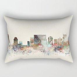 nashville city skyline Rectangular Pillow