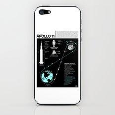 Apollo 11 Mission Diagram iPhone & iPod Skin