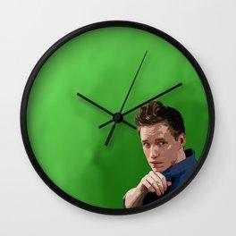 Eddie Redmayne 3 Wall Clock