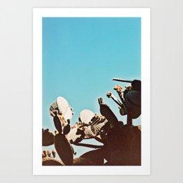 organ to the sky Art Print