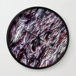 Charoite Wall Clock