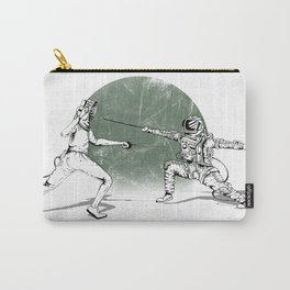 Spaceman Loves Fencing Carry-All Pouch