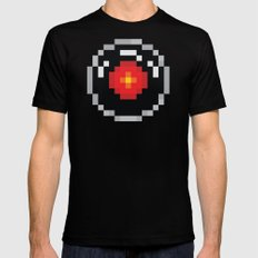2001: A Pixel Odyssey MEDIUM Mens Fitted Tee Black