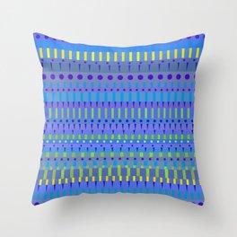 Color Stripes 2 Throw Pillow
