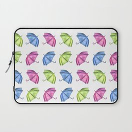 Colorful Umbrella Pattern Laptop Sleeve