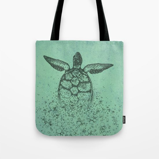 Into_The_Sea Tote Bag