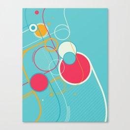 Ventana Azul Canvas Print