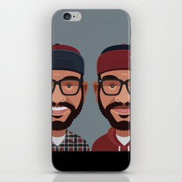 Comics of Comedy: Lucas Brothers iPhone Skin
