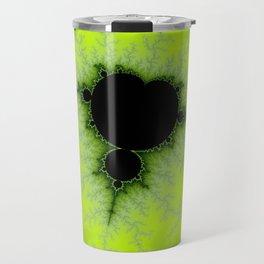 Fractal Mandelbrot Green Travel Mug