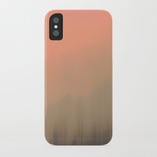 Empty Fog iPhone Case