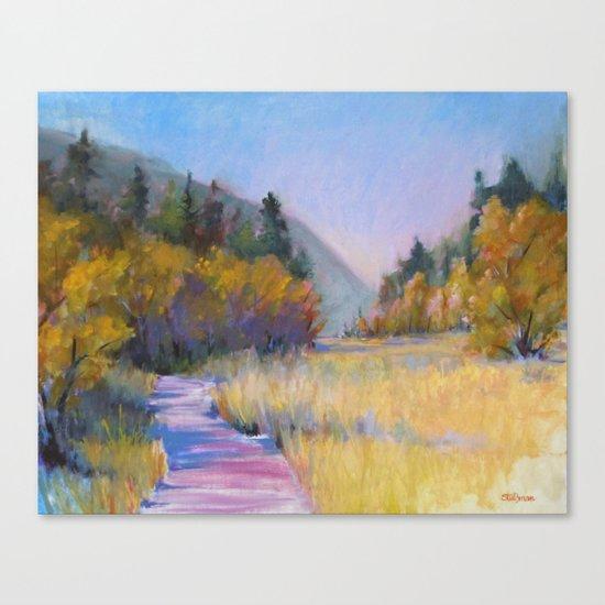 Crossing Shadows Canvas Print