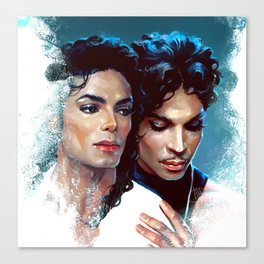 Two legends Canvas Print
