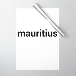 mauritius Wrapping Paper