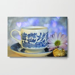 Blue Willow  Metal Print